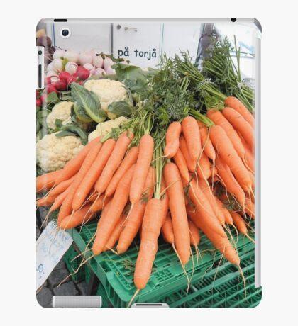 Vegetables for Sale iPad Case/Skin