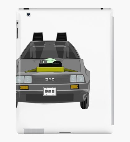 Delorean DMC-12 de Regreso al Futuro iPad Case/Skin