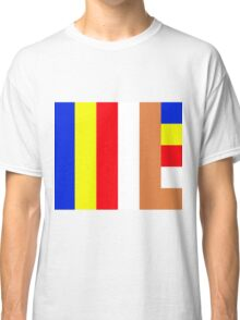 Buddhism Flag Classic T-Shirt