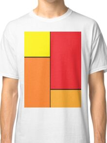 Sunset Red Classic T-Shirt
