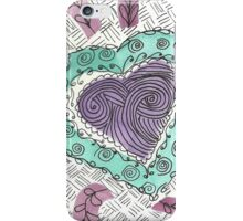 Scattered Heart, squared iPhone Case/Skin