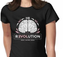 180 H8 rEVOLution Resist Reform Renew Pink Womens Fitted T-Shirt