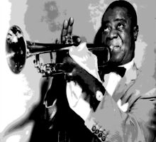 Satchmo by LuciaS