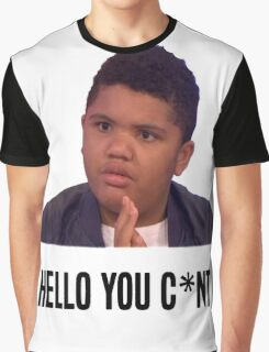 Hello You C*nt | Harvey Price Graphic T-Shirt