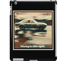 Alfa Romeo Giulia Sprint GTA iPad Case/Skin