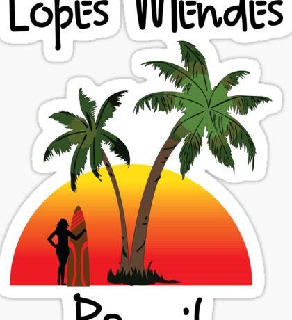 Lopes Mendes Brazil Sticker