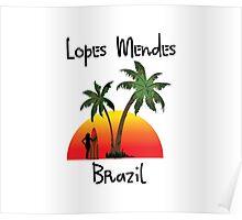 Lopes Mendes Brazil Poster
