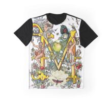 The Illustrated Alphabet Capital M (Fuller Bodied) from THE ILLUSTRATED MAN Graphic T-Shirt