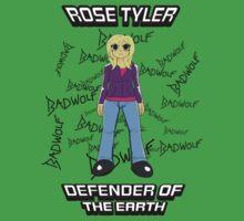 Rose Tyler - Defender of the Earth Kids Tee
