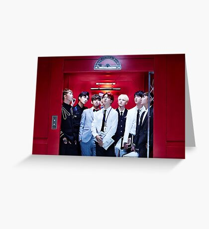 BTS GROUP - DOPE #2 Greeting Card