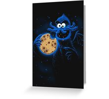 Cookiethulhu Greeting Card