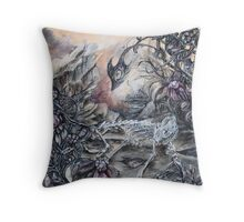 Given To Slovenly Pursuits Throw Pillow