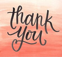 Thank You Ombre by tonyarenee