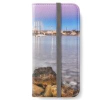 Malta beach Sunset long exposure iPhone Wallet/Case/Skin