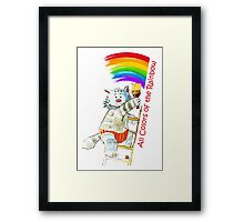All Colors Of The Rainbow Framed Print
