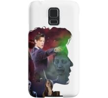 Eleventh Doctor Silhouette Samsung Galaxy Case/Skin