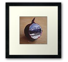 Invisible Threat Framed Print