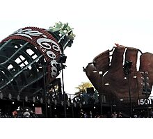 AT&T Park Coke Bottle and Glove Photographic Print