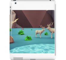 beautiful life - 3D low Polygon art iPad Case/Skin