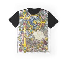 The Illustrated Alphabet Capital P (Fuller Bodied) from THE ILLUSTRATED MAN Graphic T-Shirt