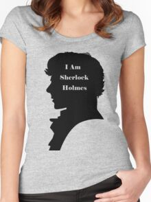 I am Sherlock Holmes Women's Fitted Scoop T-Shirt