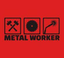 Metal worker One Piece - Short Sleeve
