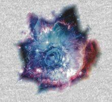 Flower Nebula One Piece - Long Sleeve