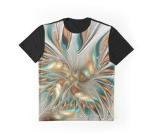 Liquid Flame Graphic T-Shirt