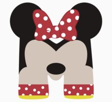 M is for Minnie Kids Tee