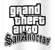 GTA San Andreas - LOGO Poster