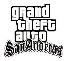 GTA San Andreas - LOGO Photographic Print