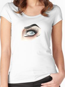 Eye see Adore Women's Fitted Scoop T-Shirt