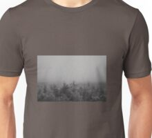 Misty forestry Unisex T-Shirt