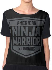 American Ninja Warrior in Training Chiffon Top