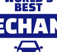 World's best mechanic Sticker
