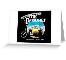 the prisoner  (i'm not a number i am a free man) Greeting Card