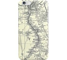Vintage Map of Egypt (1911) iPhone Case/Skin
