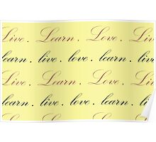 Live Learn Love Series Poster
