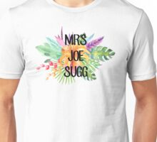 Mrs Joe Sugg – Floral, YouTube Unisex T-Shirt