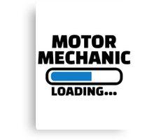 Motor mechanic loading Canvas Print
