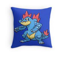 Feraligatr Throw Pillow