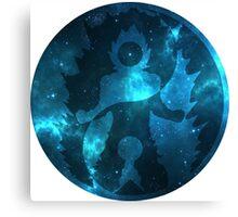 Super Saiyan God - Yin Yang Universe Symbol Canvas Print