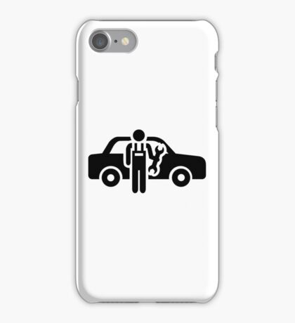Motor mechanic iPhone Case/Skin