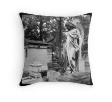 Pere Lachaise Cemetery, Paris, France Throw Pillow