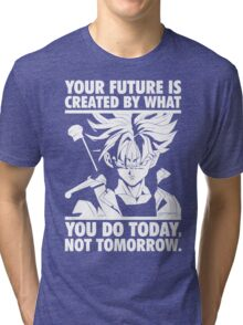 Create Your Future (Future Trunks) Tri-blend T-Shirt