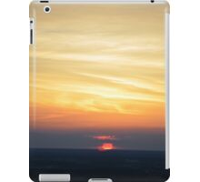 Sunset view from the TV tower in Berlin iPad Case/Skin