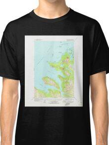 USGS TOPO Map Alaska AK Afognak B-3 353909 1954 63360 Classic T-Shirt