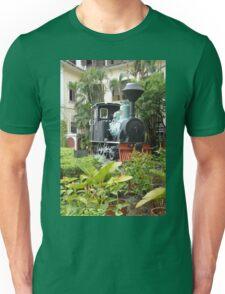 Train in garden Unisex T-Shirt