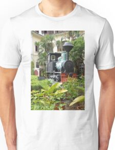 Train in garden Unisex T-Shirt