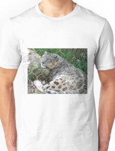 Sleeping Leopard Unisex T-Shirt